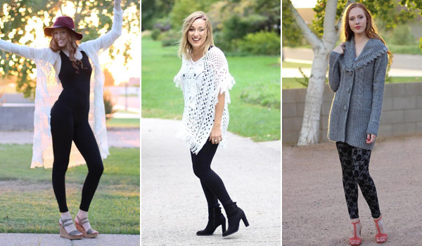 spice up your look with leggings