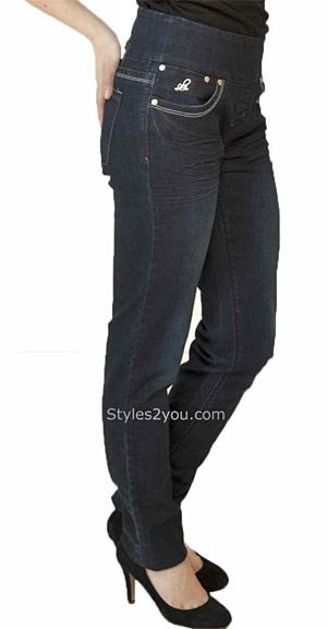 Lola Anna skinny pull-on jeans