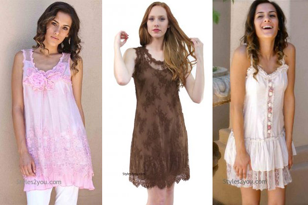 ruffles and lace dresses for summer