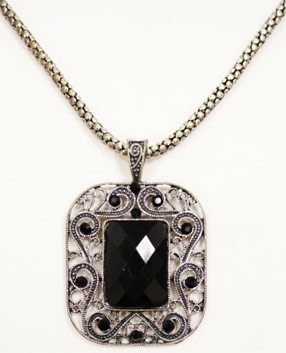 victorian pendant necklace