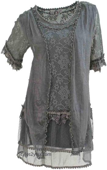 vintage victorian lace blouse